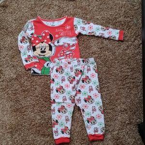 Minnie mouse Christmas PJs